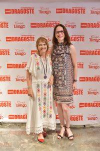 Cu Alice Nastase Buciuta la relansarea rintata a revistei Tango_Marea dragoste. Photo Credit: Paul Buciuta