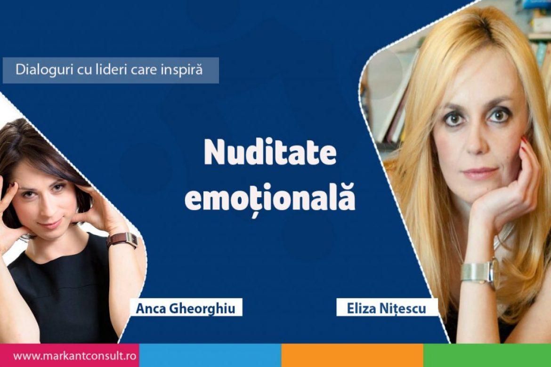Dialoguri cu lideri care inspiră – Eliza Nițescu