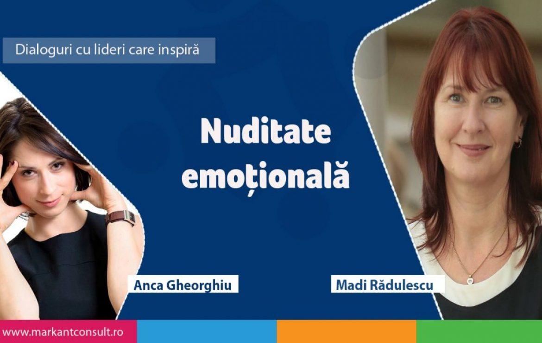 Dialoguri cu lideri care inspiră – Madi Rădulescu