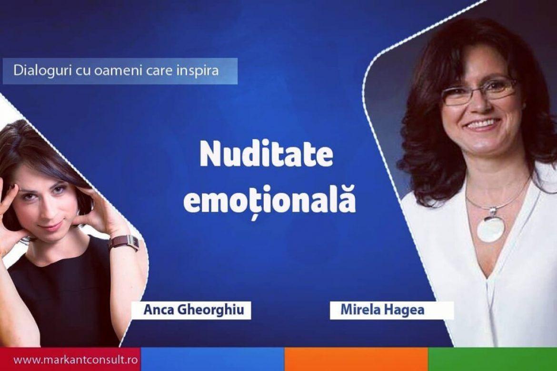 Dialoguri cu oameni care inspira – Mirela Hagea