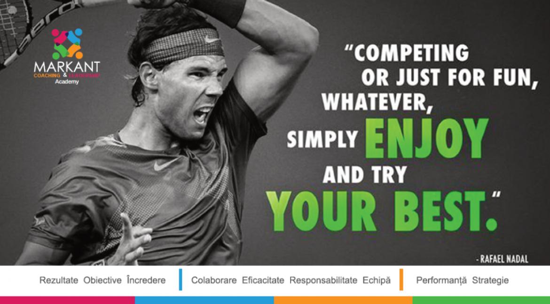 Rafael Nadal – Joc fiecare punct ca și cum viața mea ar depinde de asta